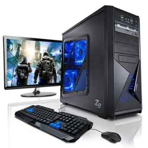 Gaming PC mit Monitor