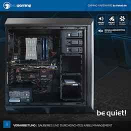 KCSgaming [184159] Defender – Intel i5-6600K (4×3.5 GHz)   BeQuiet! Pure Rock Kühler   16GB DDR4-2666 Kingston HyperX RAM   250 GB SSD + 2TB HDD   MSI GeForce GTX 1070 GAMING X 8G   MSI Z170A GAMING M5   DVD   Sound   KillerLAN   WLAN   Cardreader   600W BeQuiet! 80+ Silent Netzteil   Win10 -