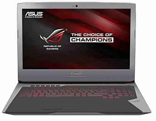 Asus ROG G752VT-GC030T 43,9cm (17,3 Zoll FHD matt) Notebook (Intel Core i7-6700HQ, 8GB RAM, 256GB SSD, 1TB HDD, Nvidia GTX 970M, BluRay, Windows 10 Home)