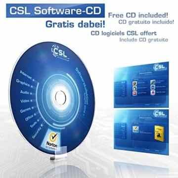 CSL PC Sprint 5772 - AMD A8-6600K APU 4x 3900MHz, 8GB RAM, 1000GB HDD, Radeon HD 8570D, DVD, USB 3.1, ohne Betriebssystem -