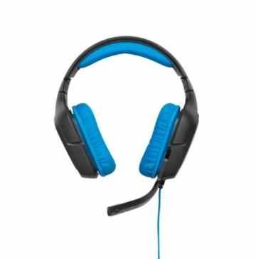 Logitech G430 Gaming Kopfhörer (Dolby 7.1-Surround-Sound für PC und PS4) blau -