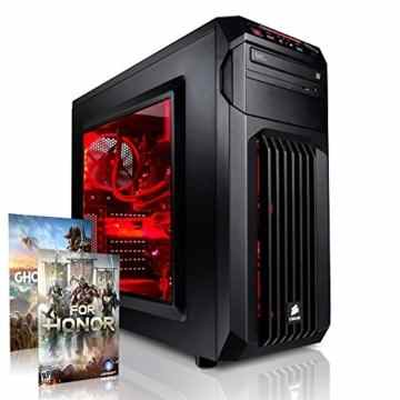 Megaport Gamer PC Intel Core i7-7700 4x 4.2 GHz Turbo • Nvidia GeForce GTX 1060 6GB • 16GB DDR4 • 1TB HDD • Windows 10 • WLAN • 450W Corsair gaming pc computer gaming computer rechner high end -