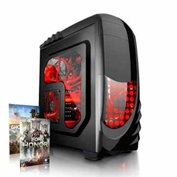 Megaport High End Gaming PC Intel Core i7-7700 4 x 4.20 GHz Turbo • Nvidia GeForce GTX1060 • 8GB DDR4 2133 • Windows 10 • 1TB • WLAN gamer pc computer desktop pc gaming computer rechner kaby lake -