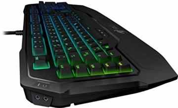 Roccat Ryos MK FX RGB Mechanische Gaming Tastatur (DE-Layout, Per-key, RGB Multicolor Tastenbeleuchtung, MX Key Switch RGB braun) -