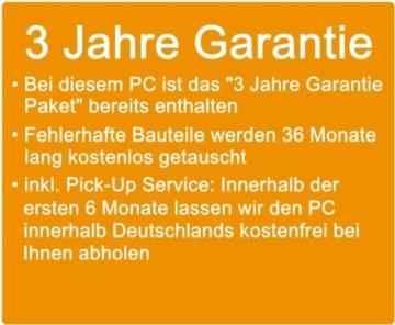 shinobee Flüster-SSD-PC Quad-Core Office/Multimedia PC Computer mit 3 Jahren Garantie! inkl. Windows10 64-Bit - INTEL Quad Core 4x2.41 GHz, 8GB RAM, 240GB SSD, Intel HD Graphics, HDMI, VGA, DVD±RW, Office, USB 3.0 #4930 -